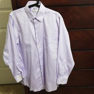 Geoffrey Beene lilac purple dress shirt